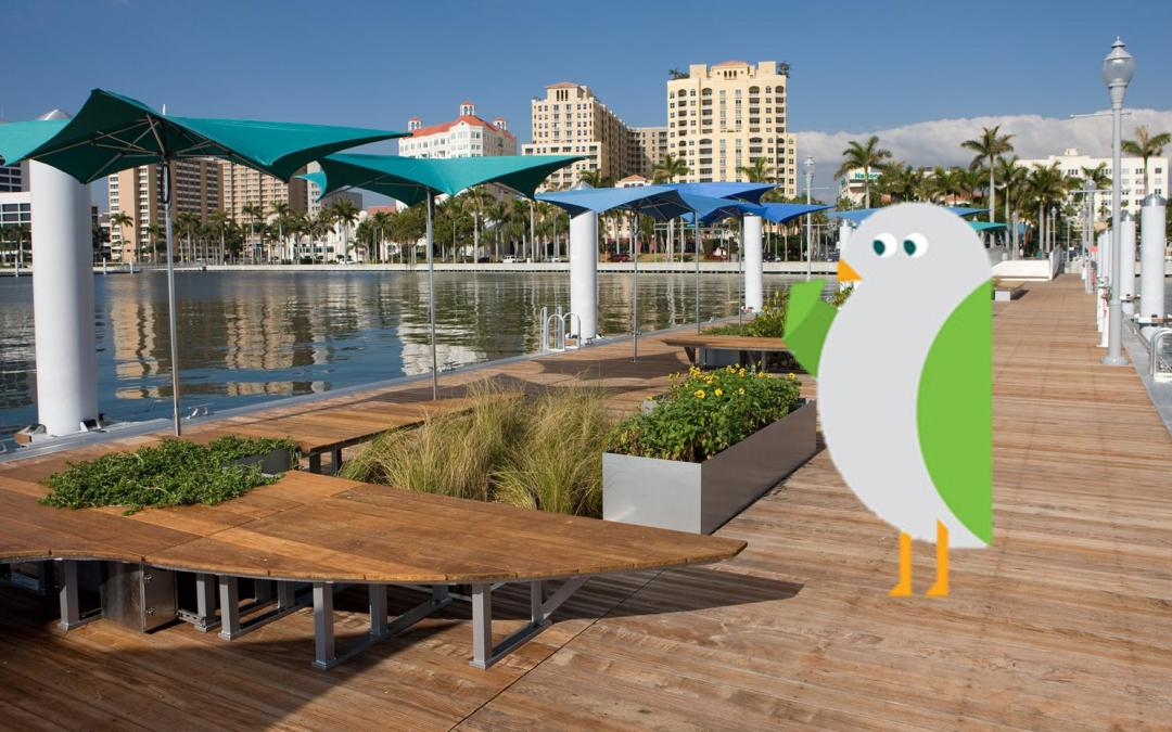 City takes to Twitter to lure NYC sustainability Mascot to West Palm Beach