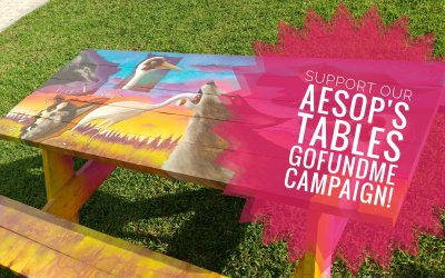 Support our GoFundMe to keep some Aesop's Tables in the Community