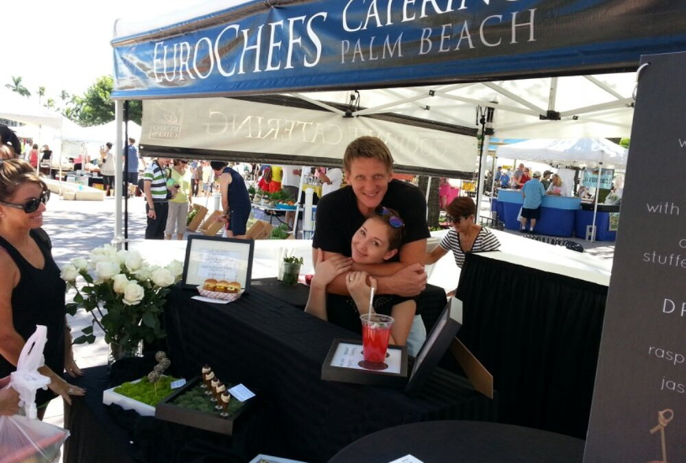 The West Palm Beach Green Market opens to great Social Media reviews