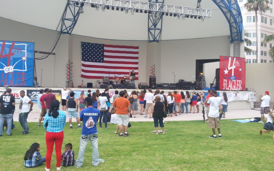 Everything you need to know about 4th of July Weekend in Downtown West Palm Beach
