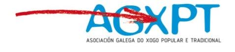 A Asociación Galega do Xogo Popular e Tradicional pretende, basicamente, unir esforzos para favorecer o desenvolvemento e a práctica dos xogos e deportes tradicionais e populares galegos