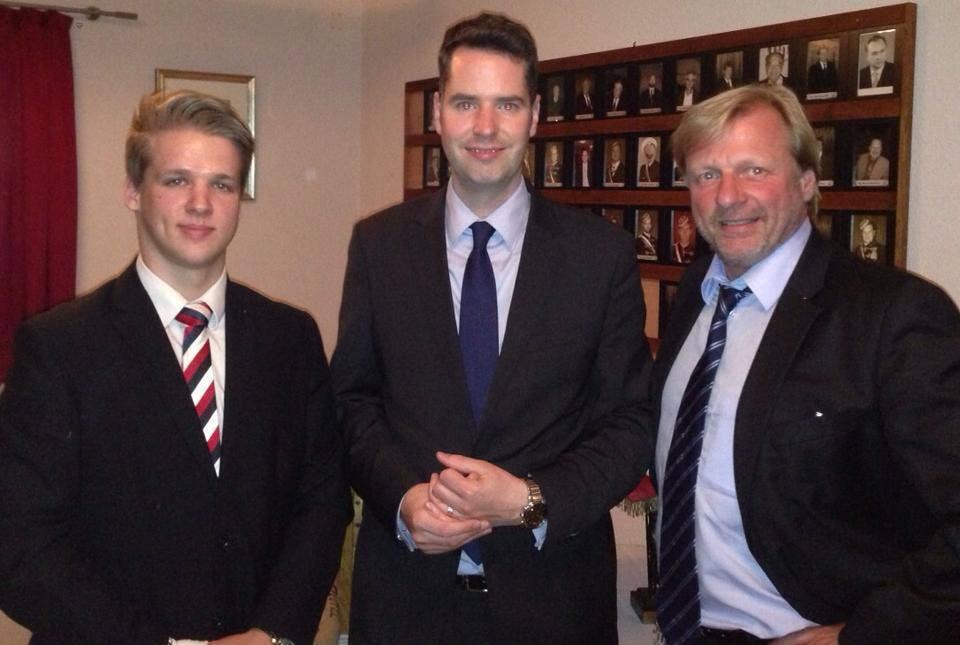 Christian Dürr, FDP-Fraktionsvorsitzender von Niedersachsen, stritt leidenschaftschaftlich über liberale Positionen