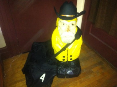Captain Ahab of Ahab's Adventures packed and readt to go to Austin Texas 2013