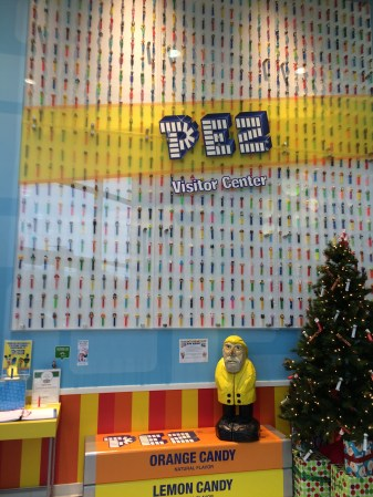 Captain Ahab of Ahab's Adventures touring the PEZ Factory in Orange, Connecticut 2015
