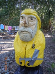 Captain Ahab of Ahab's Adventures doing research at VIERS on St. John U.S. Virgin Islands 2016