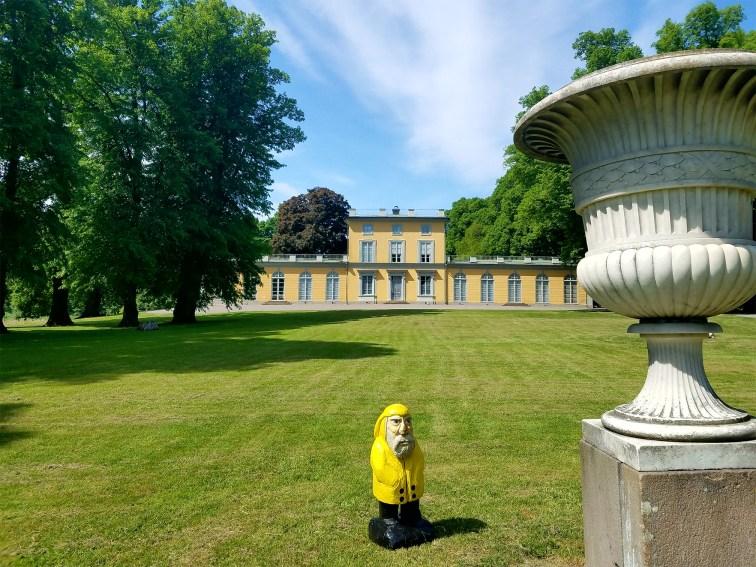 Captain Ahab of Ahab's Adventures at Gustav III's Pavillon inside Hagaparken in Stockholm Sweden 2016