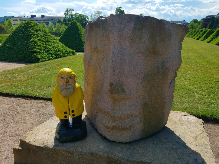 Captain Ahab of Ahab's Adventures at the Botanical Gardens in Uppsala Sweden 2016