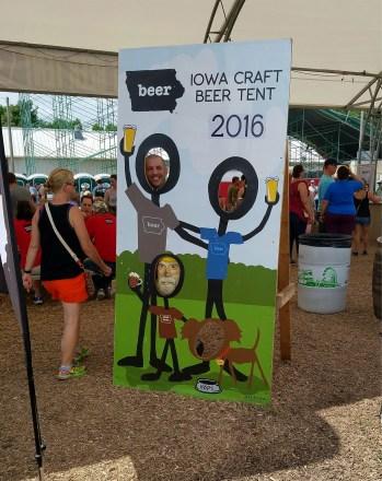 Captain Ahab of Ahab's Adventures exploring the Iowa State Fair 2016