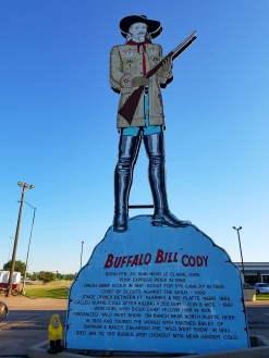 Captain Ahab of Ahab's Adventures making a quick stop at Fort Cody in North Platte Nebraska 2016