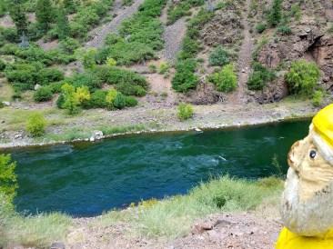 Captain Ahab of Ahab's Adventures admiring Black Canyon 2016