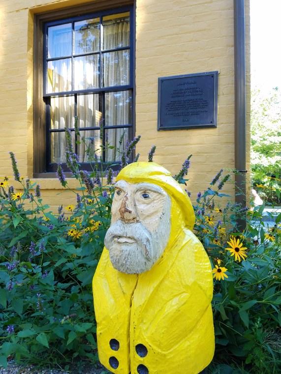 Captain Ahab of Ahab's Adventures at Herman Melville's Arrowhead part of the Berkshire Historical Society 2016