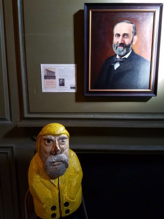Captain Ahab of Ahab's Adventures at Herman Melville's Arrowhead part of the Berkshire Historical Society 2016