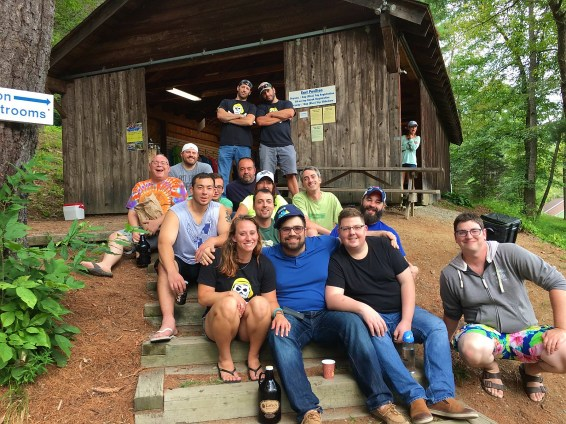 Captain Ahab's White Water Rafting Crew at Zoar Outdoor 2016