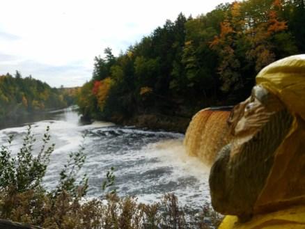 Captain Ahab of Ahab's Adventures at Upper Tahquamenon Falls in the Upper Peninsula Michigan 2016