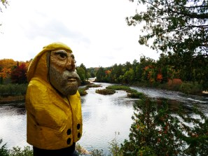 Captain Ahab of Ahab's Adventures at Lower Tahquamenon Falls in the Upper Peninsula Michigan 2016