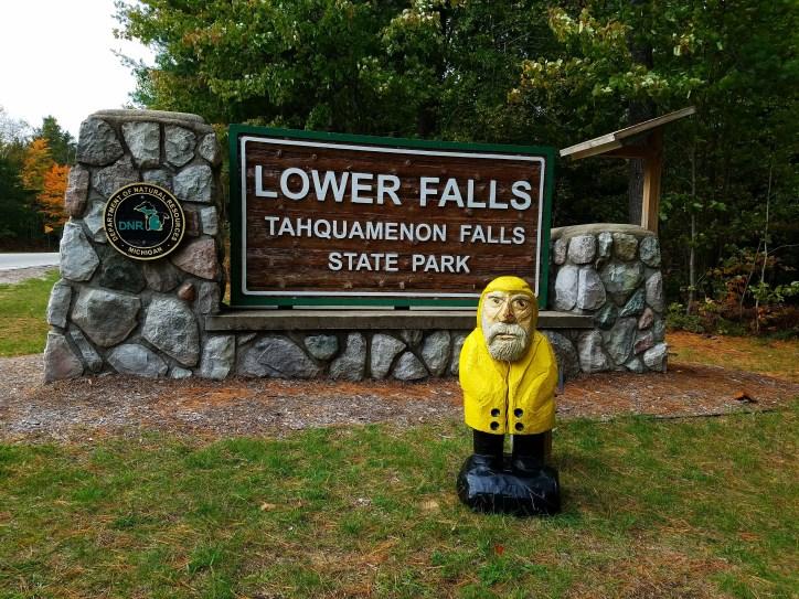 Captain Ahab of Ahab's Adventures at Lower Tahquamenon Falls in the Upper Peninsula Michigan 2016