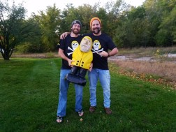 Captain Ahab of Ahab's Adventures catching up with old friends in Ann Arbor Michigan 2016