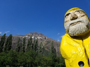 Captain Ahab of Ahab's Adventures hanging out around the Cascada de Las Animas campus in San Alfonso Chile 2017