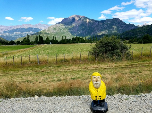 Captain Ahab of Ahab's Adventures hitching in Patagonia Chile 2017