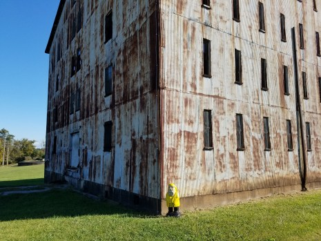 Captain Ahab of Ahab's Adventures feeling at home at Willett in Bardstown Kentucky 2017