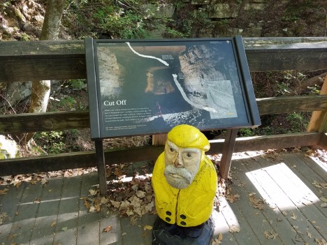 Captain Ahab of Ahab's Adventures inside Mammoth Cave National Park 2017