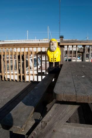 Captain Ahab of Ahab's Adventures exploding Portland Maine 2013