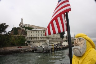 Captain Ahab of Ahab's Adventures at Alcatraz Island National Park 2011