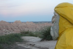 Captain Ahab of Ahab's Adventures at Badlands National Park 2011