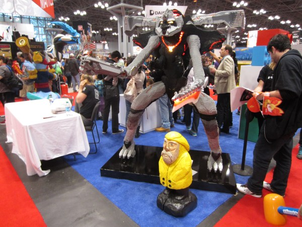 Captain Ahab of Ahab's Adventures at the New York Comic Con 2013