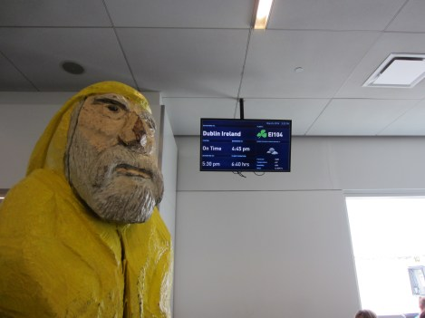 Captain Ahab of Ahab's Adventures on our way to Ireland 2014