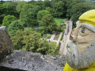 Captain Ahab of Ahab's Adventures at Blarney Castle in Ireland 2014