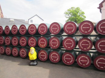 Captain Ahab of Ahab's Adventures at Old Bushmills Distillery in Ireland 2014