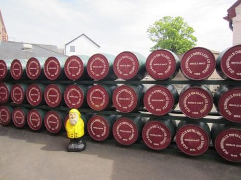 Captain Ahab of Ahab's Adventures at Old Bushmills Distillery in Ireland 2014