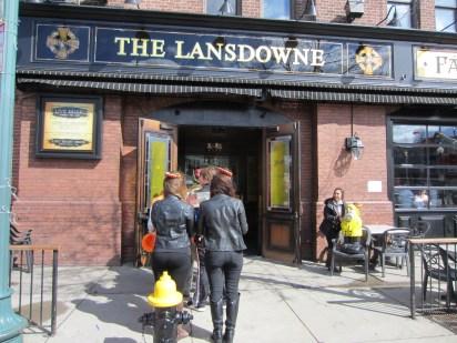 Captain Ahab of Ahab's Adventures with Team Zissou at the Lansdowne Pub before the Boston Urban Iditarod 2015