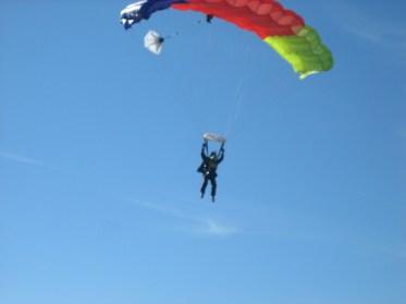 Captain Ahab of Ahab's Adventures Skydiving with Jumptown 2007