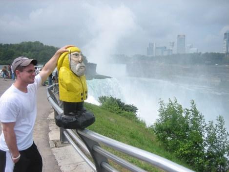 Captain Ahab of Ahab's Adventures at Niagara Falls State Park New York 2009