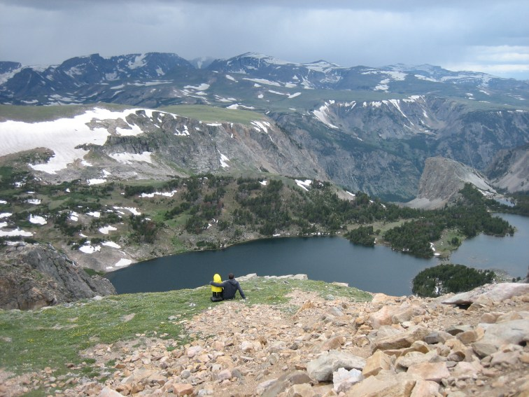 Captain Ahab of Ahab's Adventures at the Beartooth Pass in Montana 2009