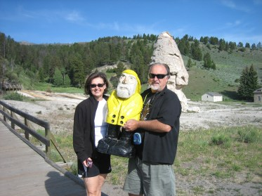 Captain Ahab of Ahab's Adventures at Yellowstone National Park in Wyoming 2009