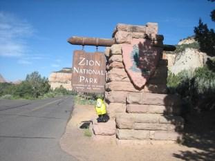Captain Ahab of Ahab's Adventures at Zion National Park in Utah 2009