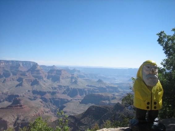 Captain Ahab of Ahab's Adventures at the Grand Canyon National Park in Arizona 2009