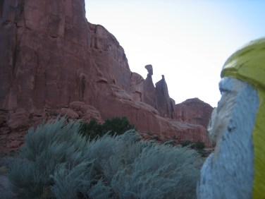 Captain Ahab of Ahab's Adventures at Arches National Park in Utah 2009