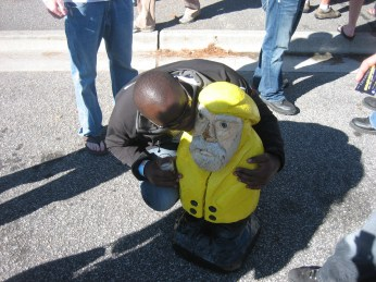 Captain Ahab of Ahab's Adventures at the Lighthouse Beer and Wine Festival in Wilmington North Carolina 2010