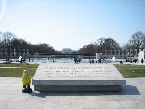 Captain Ahab of Ahab's Adventures at the World War II Memorial in Washington D.C. 2011