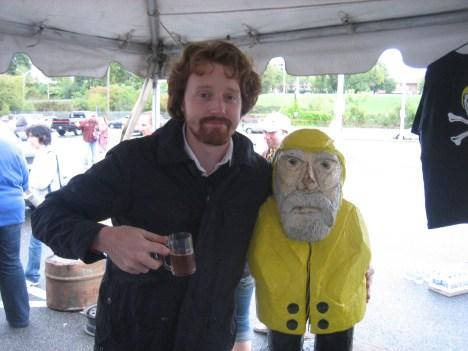 Captain Ahab of Ahab's Adventures at Berktoberfest Pittsfield Massachusetts 2011 & 2012