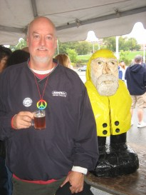 Captain Ahab of Ahab's Adventures at Berktoberfest Pittsfield Massachusetts 2011 & 2012
