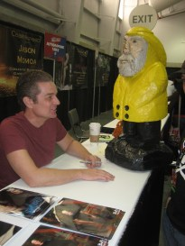 Captain Ahab of Ahab's Adventures with James Marsters at the New York Comic Con 2011