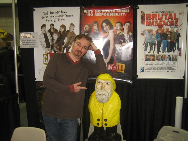 Captain Ahab of Ahab's Adventures with Brian O'Halloran at the New York Comic Con 2011