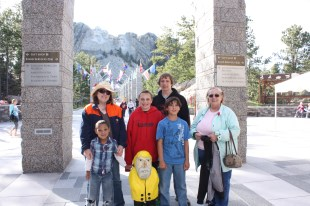 Captain Ahab of Ahab's Adventures in Mount Rushmore National Park in South Dakota 2011