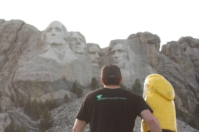 Captain Ahab of Ahab's Adventures in Mount Rushmore National Park in South Dakota 2011