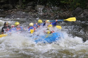 Captain Ahab of Ahab's Adventures with IWYS at Zoar Outdoor White Water Rafting 2010